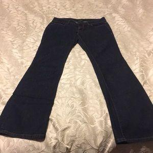 Ann Taylor Jeans - Ann Taylor dark rinse boot cut jeans